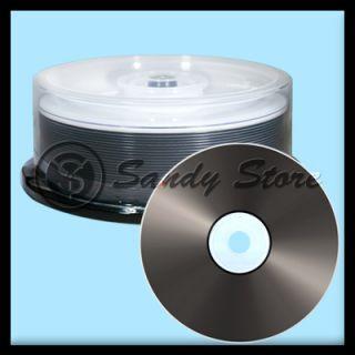6X 25GB BD R Blue Blu Ray Blank Media Disc Discs Logo Top New