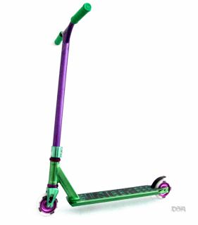 Blunt Envy Complete Pro Scooter Green Purple Razor Scooter District