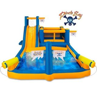 Pirates Bay Inflatable Play Park by Blast Zone