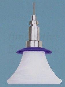 Mini Pendant Light Brushed Nickel Flexible Cord Kitchen Bar Island