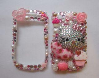 3D Bling Hello kitty Blackberry Curve 8520 8530 9300 9330 Case