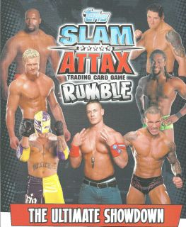 Topps WWE Slam Attax Rumble Legends Trading Card See Cards Available