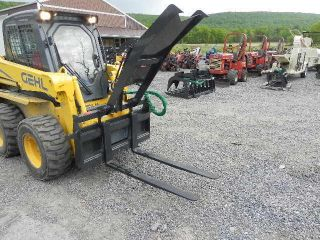 Fork Grapple Log Bobcat Wood Skid Steer Loader Skid Steer Forks