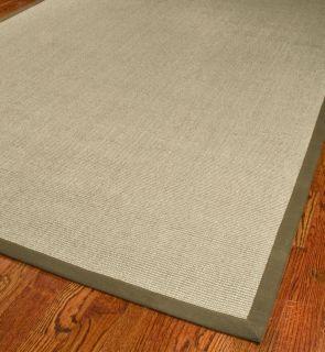 12 Taupe/ Brown Hand woven Sisal Carpet Area Rug