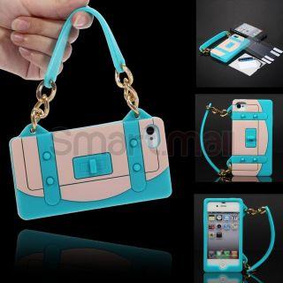 Stylus Films Blue Rugged Rubber Matte Handbag Hard Case Cover For