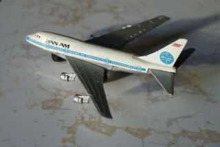 Model Airplane Pan Am A203 Boeing 747 SP Metal Aviation Airline