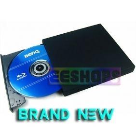 T02 4X 3D Blu Ray Burner Wirter BD RE USB External Slim DVD RW Drive