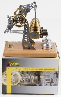 Bohm Boehm Stirling Engine HB14 for Live Steam Toys