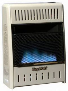 10 000 BTU Blue Flame Vent Free Dual Gas Wall Heater