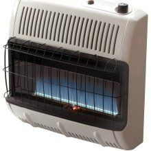 Mr Heater Vent Free 30K BTU Blue Flame Propane W Tstat Blower
