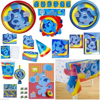 Vintage Blues Clues Birthday Party Supplies Pick 1 or Many to Create