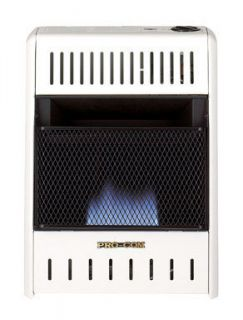Blue Flame Natural or Propane Gas Heater 10000 BTU Manual Control