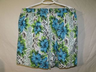 Vintage 90s Body Glove Surf Jams Lined Swim Trunks Board Shorts Sz M