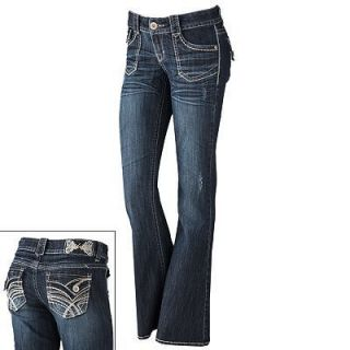 Hydraulic Flare Jeans Dark Blue