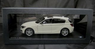 BMW 1 Series F20 5 Door Hatchback 2012 on 1 18 Factory Boxed Mineral