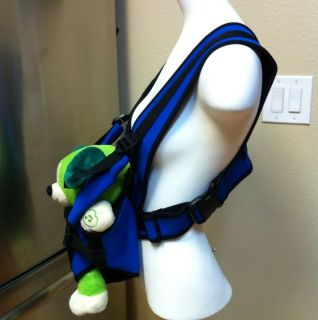 Water Tot Baby Infant Water Carrier Harness By TOTCO Blue Black