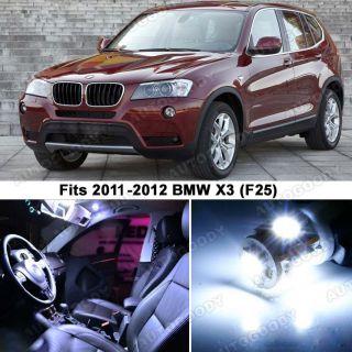 BMW x3 White LED Lights Interior Package Kit F25