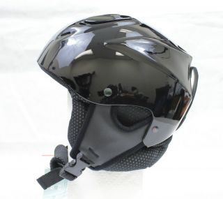 New Allpro Ski Snowboard Winter Sports Helmet Black s M XL 53cm 55cm