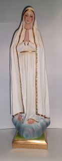 Pilgrim Virgin of Fatima 24 Statue