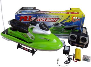 RC Jet Ski R C Motor Boat EP Watercraft Speed SHIP Radio Control