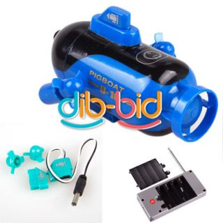 Control RC Mini Submarine Sub Boat Explorer Toy Kids Gift