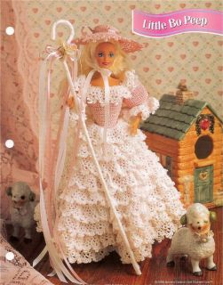 Little Bo Peep Fashion Doll Crochet Pattern