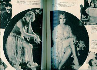 Film Fun February 1929 Enoch Bolles Gypsy Playing Cards Spicy Art Sexy