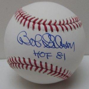 Bob Gibson Autographed St Louis Cardinal MLB Rawlings Baseball PSA