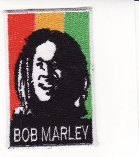 Bob Marley One Love Embroidered Iron on Patch B25