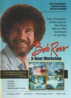 Bob Ross Joy of Painting Series 3 Hour Workshop DVD