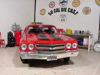 1970 Chevy Chevelle SS 454 LS6 Bob Hamiltons Super Stock Red Alert 1