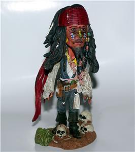 Jack Sparrow Pirates of The Caribbean Disney Bobblehead