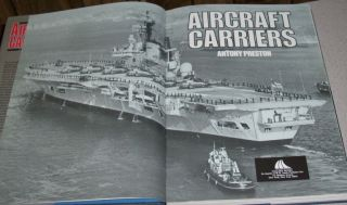 Military Book Lot of 5 Navy Battleships Aircraft Carriers WWII