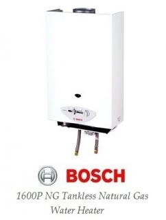 BOSCH 1600P NG AQUASTAR INDOOR TANKLESS NATURAL GAS HOT WATER HEATER 4