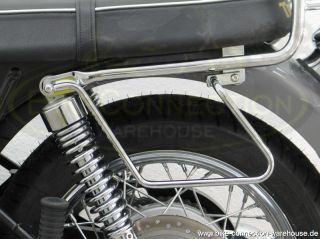 Chrome Grab Bar Triumph Bonneville SE T100 Scrambler Railing