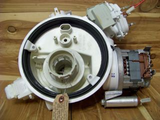 Bosch Dishwasher Circulation Pump Motor Assembly 263835