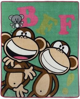 Large Bobby Jack Monkey Wall Sticker Border Character Cut Out