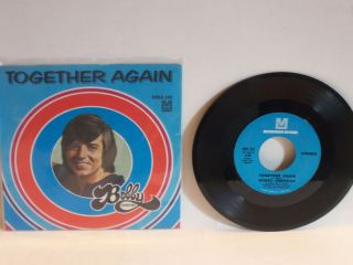 BOBBY SHERMAN 2 FOR 1 45s 1 w/Picure Sleeve Togeer Again