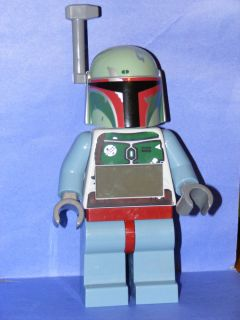 Lego Star Wars Boba Fett Mini Figure Alarm Clock