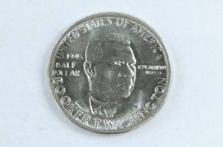 1946 P Booker T Washington 90% Silver Commemorative Half Dollar High