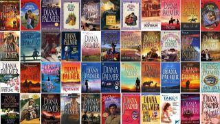 DIANA PALMER ~HUGE LOT~of 66 books  80 stories **** Mostly paperbacks