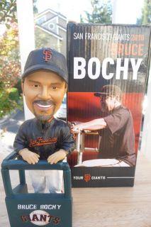 BRUCE BOCHY BOBBLEHEAD BOBBLE SAN FRANCISCO GIANTS MANAGER NIB 8 14 SF