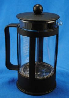Bodum French Press Coffee Maker Glass Black Plastic Denmark Starbucks