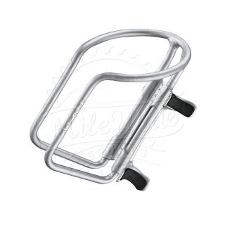 Cage HV Aluminum MTB Road Tri Water Bottle Cage Gloss Silver