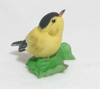 Boehm Porcelain American Goldfinch Bird Figurine USA