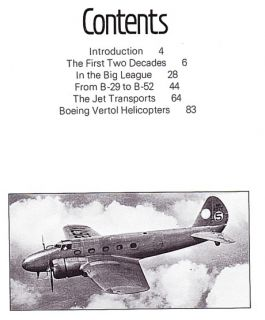 OUT OF PRINT AVIATION HISTORY BOOK BOEING BY M.J. HARDY, PUBLISHED