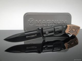 Superior New Boker Magnum Pocket Knife Six Gun Folder Authentic Free