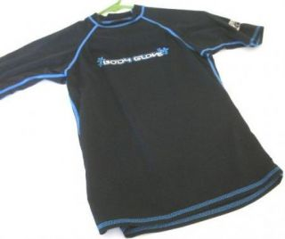 Body Glove Boys Girls s Rash Guard Swim Shirt UV Black