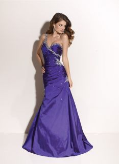 Mori Lee Paparazzi 91011 Purple Formal Ball Gown Prom Pageant Dress