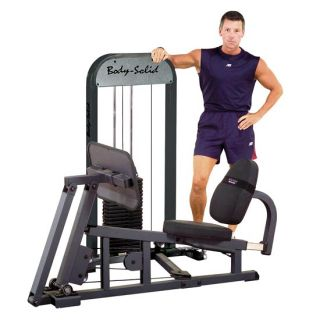 Body Solid Leg Calf Press Weight Stack Machine GLP STK